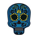 Mask of the santa death. Vector illustration design royalty free illustration