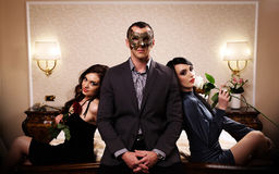 The Mask Series Stock Photography