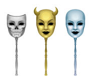 Mask set Royalty Free Stock Photography