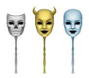 Mask set Royalty Free Stock Photography