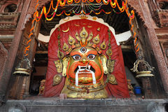Mask of Seto Bhairab Royalty Free Stock Photo