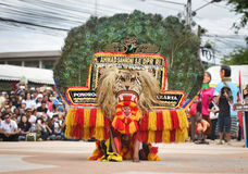 Mask Show Dance Indonesia royalty free stock photo