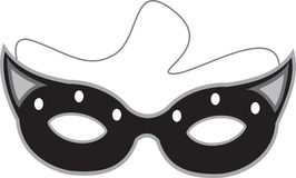 Mask silhouette Stock Photography