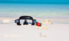 Mask snorkel Stock Images