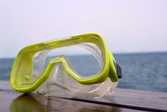 Mask snorkeling Stock Photo