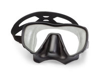 Mask for snorkeling and diving. Royalty Free Stock Images