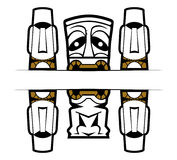 Mask tattoo Royalty Free Stock Images