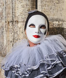 Mask with a Teardrop Royalty Free Stock Photography