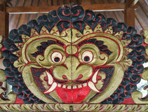 The mask at the temple in Bali, Indonesia Royalty Free Stock Photography