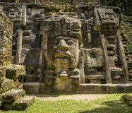 Mask Temple, Lamanai Ruins Stock Image