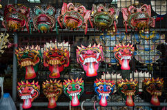 Mask of Thai literature Stock Photos