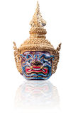 Mask of Thai pantomime Royalty Free Stock Photo