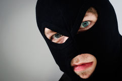Mask of a thief Stock Images