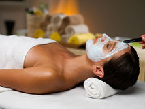 Mask treatment Royalty Free Stock Images