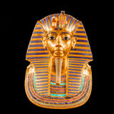 Mask of Tutankhamuns mummy Stock Images