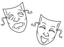 Mask vector illustration