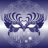 Mask. Venetian mask. Carnival. Vector illustration Royalty Free Stock Images