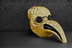 The Golden Mask Royalty Free Stock Photos