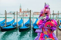 Mask in Venice Royalty Free Stock Photography