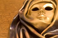 Mask from Venice (2483). Close-up of a Venetian mask (Venice Royalty Free Stock Images