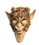 Mask of Venice. Animal scull scary mask with gold details for carnival in Venice, Italy Stock Photography