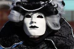 Mask at Venice Carnival royalty free stock photo