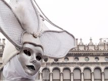 Mask at Venice Carnival stock images