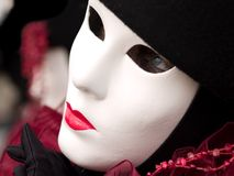 Mask at Venice Carnival. A mask at venice carnival Stock Images