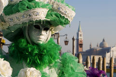 Mask from venice carnival Stock Images