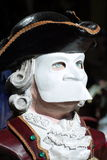 Mask in Venice Carnival Royalty Free Stock Images
