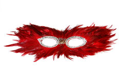 Mask, white background Stock Photos