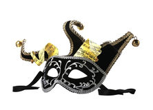 Mask  on a white background Royalty Free Stock Image