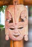 Mask wood. Royalty Free Stock Photos