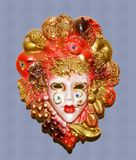 maska carnaval Fotografia Royalty Free