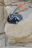 Maska dla nurkować zdjęcie stock