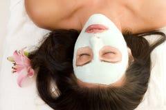 maska facial Fotografia Stock