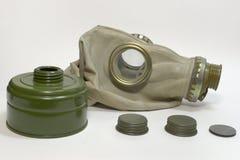 Maska gazowa, filtr bez węża elastycznego Obraz Stock