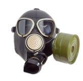 Maska gazowa z filtrem wspinał się na stronie maska Zdjęcie Royalty Free