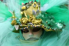 maska karnawałowa Włochy Wenecji Obraz Stock