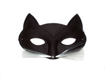 maska kota Zdjęcia Royalty Free