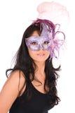 maska latynoski nosić venetian Zdjęcie Stock