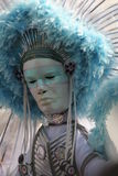 maska notting hill karnawałowego Obrazy Royalty Free