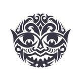 maska plemienny ilustracja wektor
