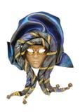 maska venetian Obrazy Royalty Free