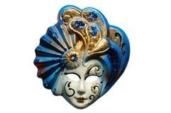 maska venetian pojedynczy Obraz Stock