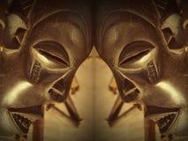 maska z afryki Obrazy Stock