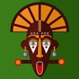 maska z afryki Obraz Royalty Free