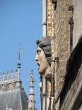 Maskaron in Brussel Stock Foto