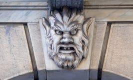 Maske des Steins Lizenzfreies Stockbild
