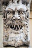 Maske des Steins Stockfotografie